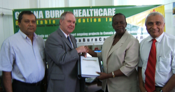 Donation of Instructional Burn Care Manuals & Digital copies